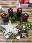 Adventskranz, Immergrün Kranzgestaltung, Weihnachtsdekoration