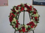 Trauerkranz, Bestattung Blumenkranz, Floristik RÜHLE