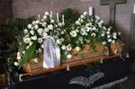 Trauerfeier Blumendekoration, Trauerkranz, Floristik RÜHLE